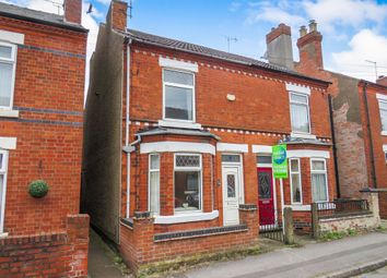 Thumbnail 2 bed semi-detached house for sale in Barber Street, Eastwood, Nottingham