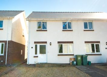 Thumbnail 3 bed semi-detached house for sale in Y Ddol Fach, Penrhyncoch, Aberystwyth