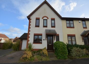 Thumbnail 3 bed end terrace house for sale in Harrop Dale, Carlton Colville, Lowestoft