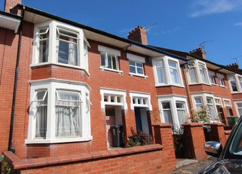 Thumbnail 3 bed terraced house for sale in Rhigos Gardens, Cathays, Cardiff