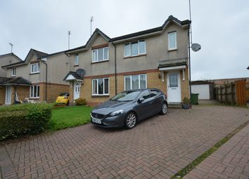 Thumbnail 3 bed semi-detached house for sale in Cauldhame Rigg, Stewarton, Kilmarnock