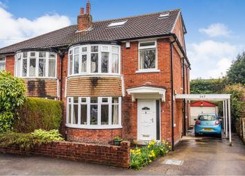 Thumbnail 5 bed semi-detached house for sale in Stainbeck Lane, Leeds
