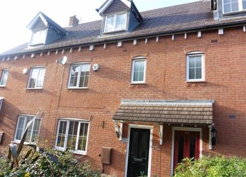 Thumbnail 4 bed town house to rent in Paddock Way, Hinckley