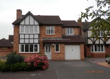 Thumbnail 5 bed detached house to rent in Barringer Way, St. Neots