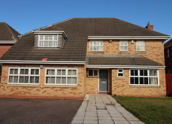 Thumbnail 5 bed detached house to rent in Celandine Road, Hamilton, Leicester