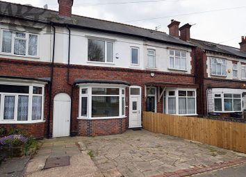 Thumbnail 4 bed terraced house for sale in Short Heath Road, Erdington, Birmingham