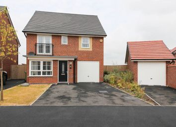Thumbnail 4 bed detached house for sale in Crossley Avenue, Highfield, Wigan