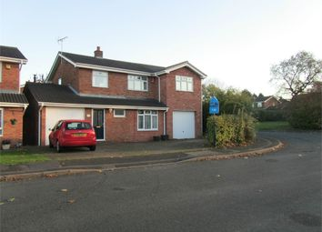Thumbnail 4 bed detached house to rent in Chatsworth Drive, Nuneaton, Warwickshire