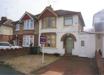 Thumbnail 3 bedroom semi-detached house for sale in Bampton Grove, Swindon