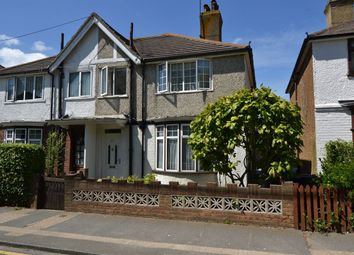 Thumbnail 3 bed semi-detached house for sale in Railway Avenue, Whitstable