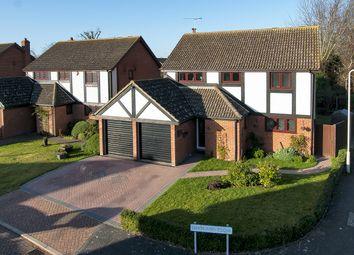 Thumbnail 4 bed detached house for sale in Shapland Close, Beltinge, Herne Bay, Kent