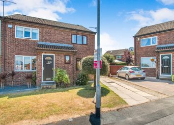 Thumbnail 2 bed semi-detached house for sale in Middlecroft Close, Leeds