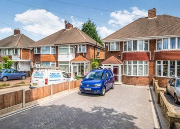 Thumbnail 3 bed semi-detached house for sale in Melton Avenue, Solihull