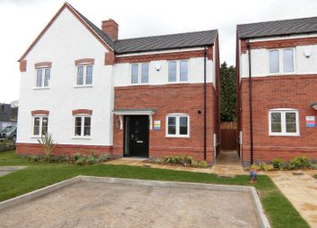 Thumbnail 2 bed property for sale in Church View, Hugglescote, Leicestershire