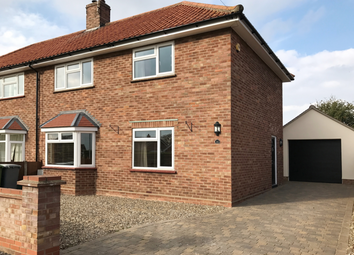 Thumbnail 4 bed semi-detached house to rent in Green Park Road, Horsford