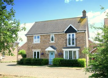 Thumbnail 4 bed detached house for sale in Top Birches, St. Neots
