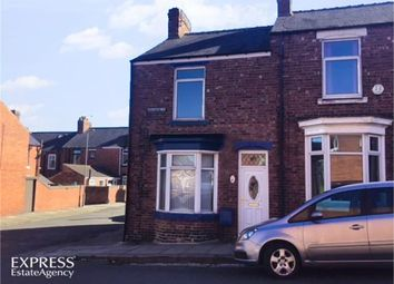 Thumbnail 2 bed terraced bungalow for sale in Osborne Street, Shildon, Durham