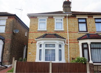 Thumbnail 2 bed semi-detached house for sale in Stockland Road, Romford