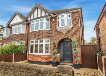 Thumbnail 3 bed semi-detached house for sale in Burton Road, Carlton, Nottingham
