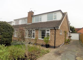Thumbnail 3 bedroom semi-detached house for sale in Cox Drive, Bottesford, Nottingham