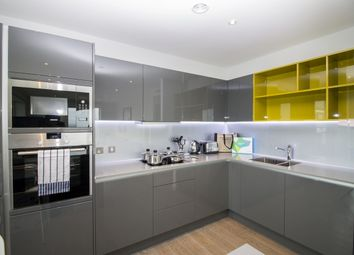 Thumbnail 3 bed flat to rent in Glasshouse Gardens, London