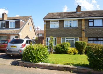 Thumbnail 3 bed semi-detached house for sale in Roosa Close, Bulwell, Nottingham