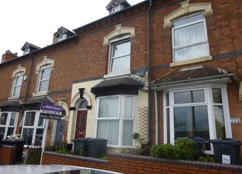 Thumbnail 3 bed terraced house to rent in Highfield Road, Saltley, Birmingham