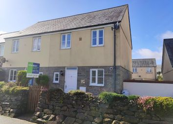 Thumbnail 2 bed semi-detached house to rent in The Hurlings, St. Columb