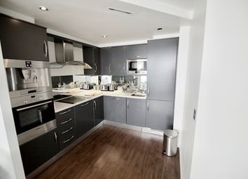 Thumbnail 2 bed flat to rent in The Oxygen Building, 18 Western Gateway, Royal Docks, London