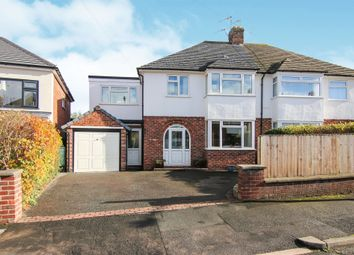 Thumbnail 4 bed detached house for sale in Gordon Avenue, Greasby, Wirral