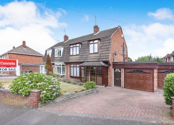 Thumbnail 3 bedroom semi-detached house for sale in Lingfield Avenue, Fordhouses, Wolverhampton