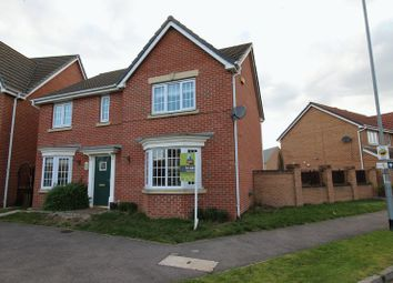 Thumbnail 4 bed detached house to rent in Claudius Road, North Hykeham, Lincoln