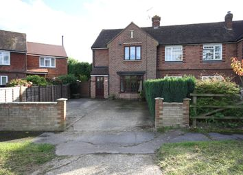 Thumbnail 3 bed semi-detached house for sale in Horley Row, Horley, Surrey