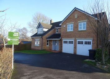 Thumbnail 5 bed detached house for sale in Stuart Close, Ashbourne