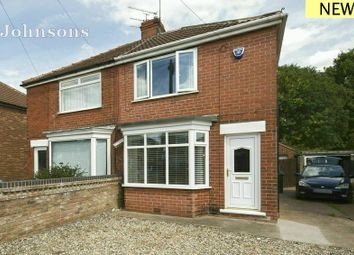 Thumbnail 2 bed semi-detached house for sale in Crompton Avenue, Sprotbrough, Doncaster.