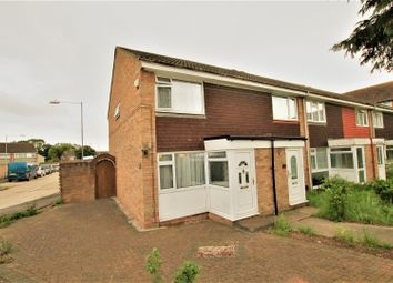 Thumbnail 2 bed end terrace house for sale in Woodrush Way, Romford