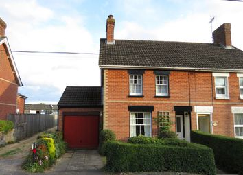 Thumbnail 3 bed semi-detached house for sale in Ashford Road, Sandleheath, Fordingbridge