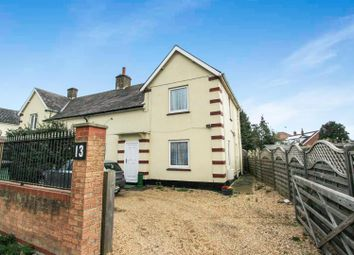 Thumbnail 3 bedroom semi-detached house for sale in Great North Road, Buckden, St. Neots