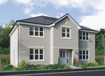 """Thumbnail 5 bed detached house for sale in """"Hopkirk"""" at Dedridge East Industrial Estate, Abbotsford Rise, Livingston"""