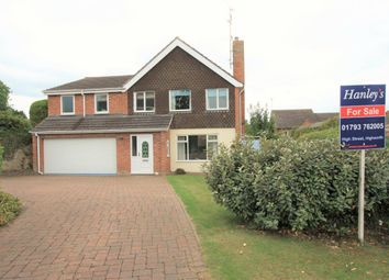 Thumbnail 4 bed detached house for sale in Churchway, Blunsdon