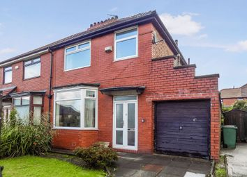 Thumbnail 3 bed semi-detached house for sale in Westholme Road, Prestwich, Manchester