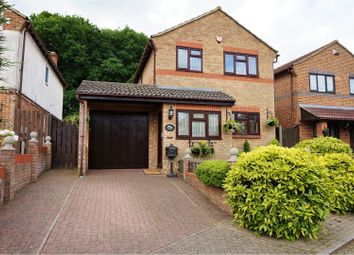 Thumbnail 4 bed detached house for sale in Huntersfield Close, Chatham