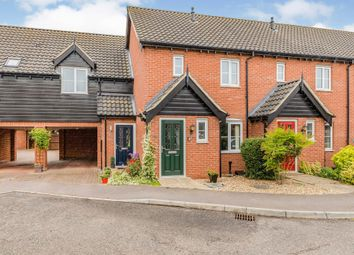 Thumbnail 2 bed terraced house for sale in Bryony Way, Attleborough