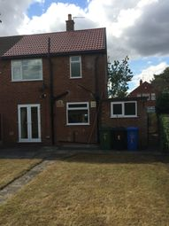 Thumbnail 2 bed end terrace house to rent in Budworth Road, Sale