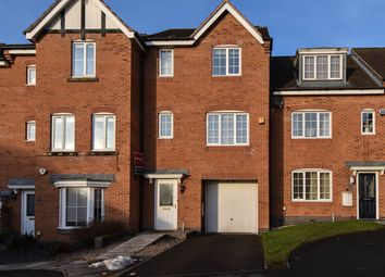 Thumbnail 4 bedroom town house for sale in Marlgrove Court, Marlbrook, Bromsgrove