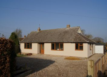 Thumbnail 3 bedroom bungalow for sale in Chare Road, Stanton, Bury St. Edmunds