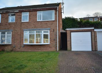 Thumbnail 3 bed semi-detached house to rent in Beaconsfield Road, Burton-On-Trent