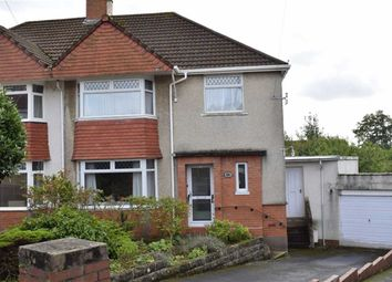 Thumbnail 3 bed semi-detached house for sale in Glan Yr Afon Gardens, Sketty, Swansea