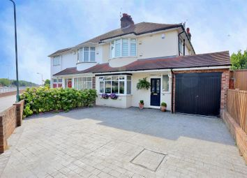Thumbnail 3 bedroom semi-detached house for sale in Basing Drive, Bexley
