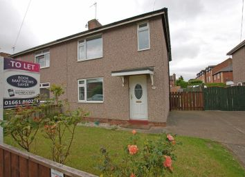 Thumbnail 3 bed semi-detached house to rent in Jackson Avenue, Ponteland, Newcastle Upon Tyne